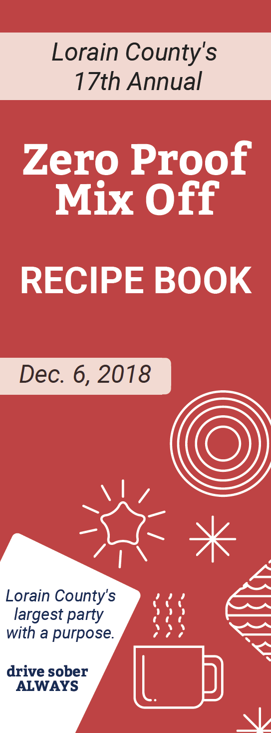 Zero Proof Mix Off Recipe Book