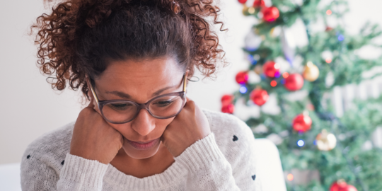 Respond to holiday stress